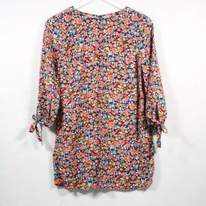 Old Navy Floral Shirt Half Sleeve XS